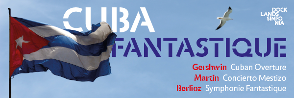 Concert banner Cuba Fantastique